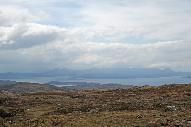 The view from the top of the Bealach