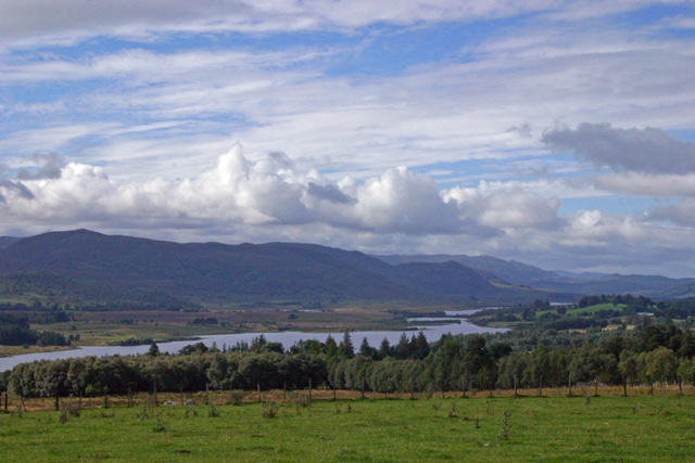 Views to Loch Farraline