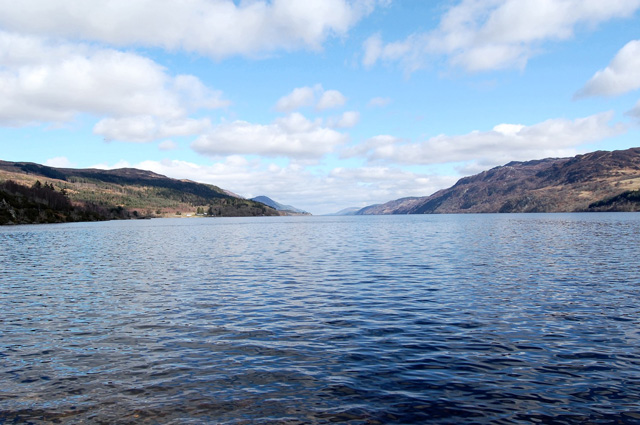 Loch Ness from the grounds of the Abbey