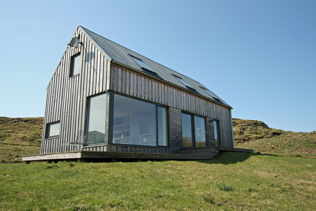 Self catering property near dunvegan isle of skye Timber house
