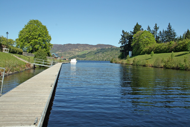 Caledonian Canal and Loch Ness