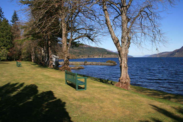 Loch Ness from the grounds