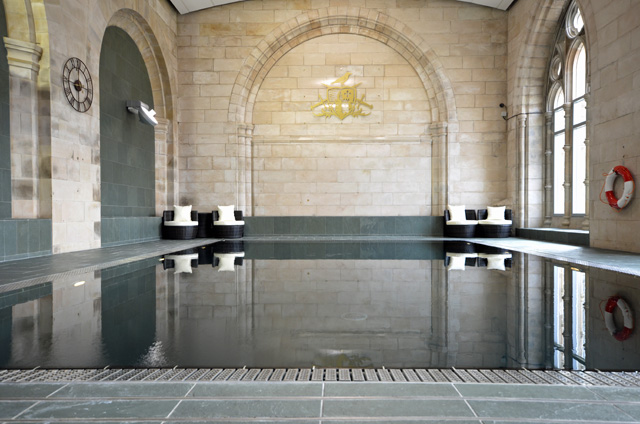 Swimming pool in the Abbey Church