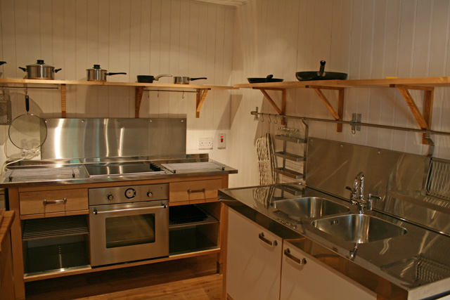 Kitchen at Stableman's Lodge