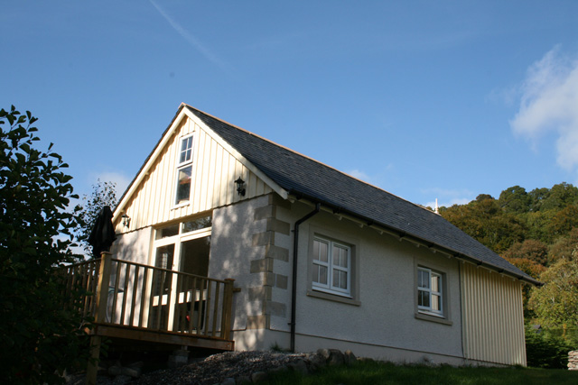 River Cottage from the side