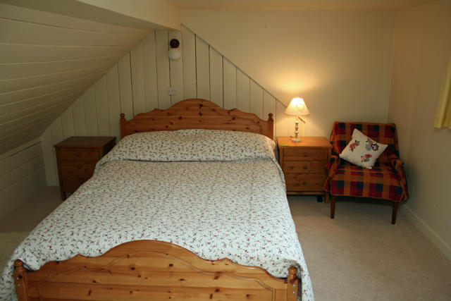 Upstairs double bedroom
