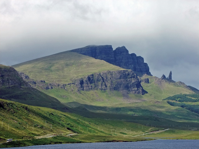 Old Man of Storr - not far from the property