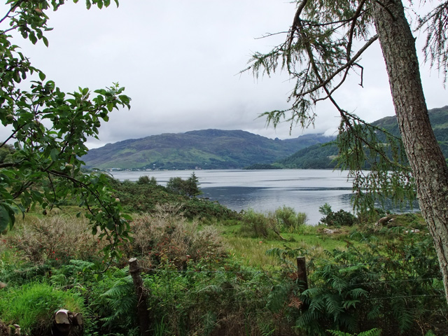 View across Loch Alsh