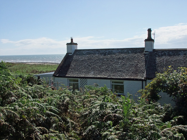 The rear of Shore Cottage
