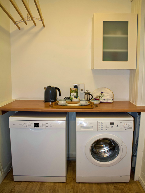 Well equipped utility room