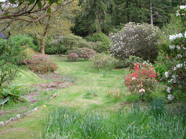 Gardens at The Bothy