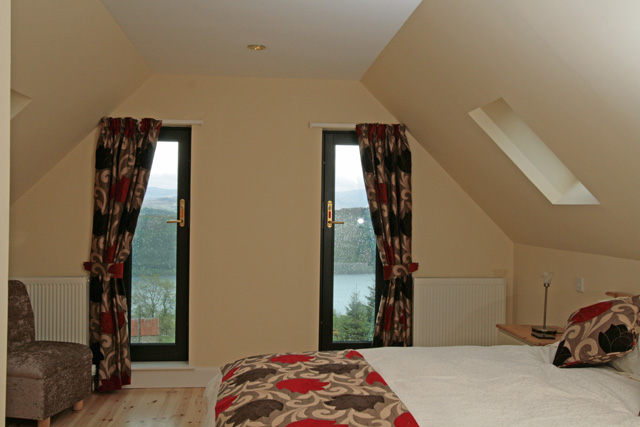 Upstairs Double with En-Suite Shower Room - A Room with a View