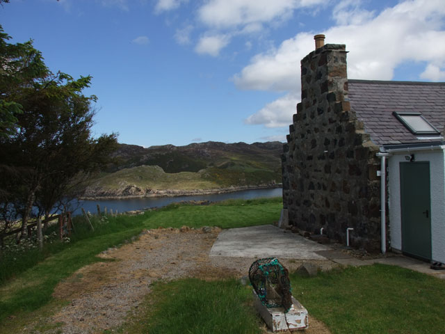 Scourie Bay from garden