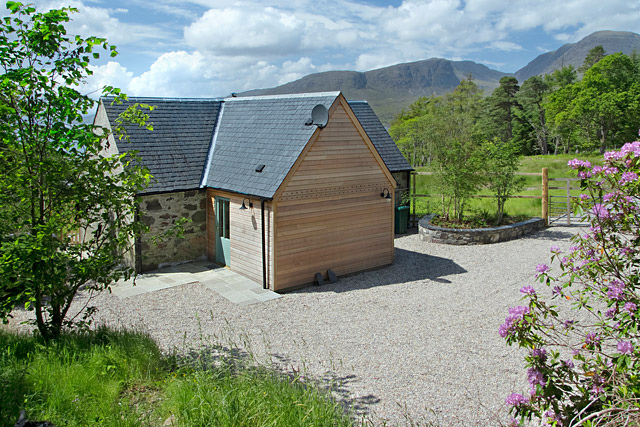 Ardoch Bothy, from behind