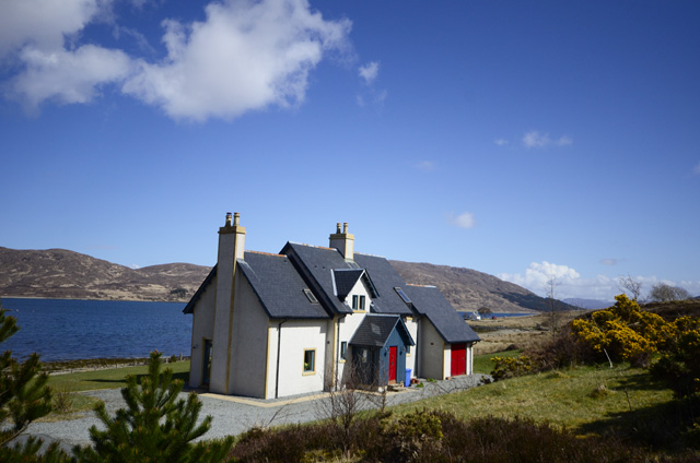 moll house self catering near sconser isle of skye. Black Bedroom Furniture Sets. Home Design Ideas