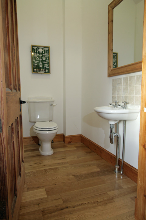 Cloakroom off the hall