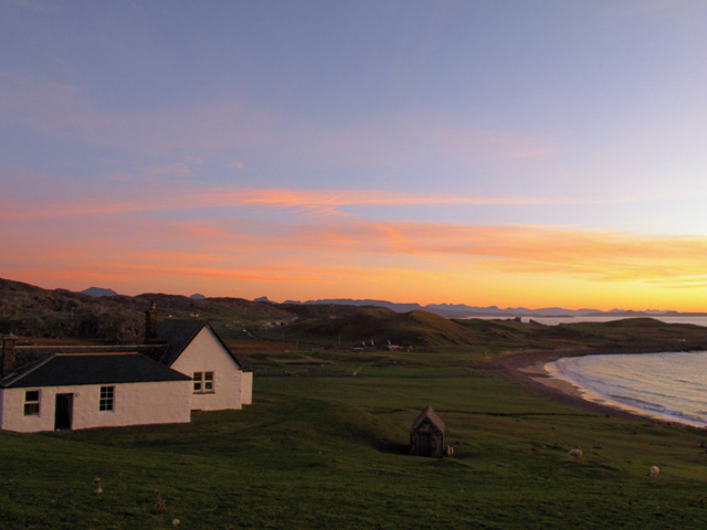 Sunset at Stoer