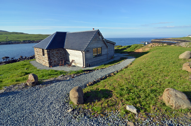 Kilmaluag Bay Holiday Cottage Trotternish Peninsula Skye