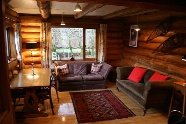 Lounge at the Log House