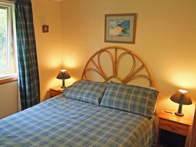 Bedroom at Pine Lodge